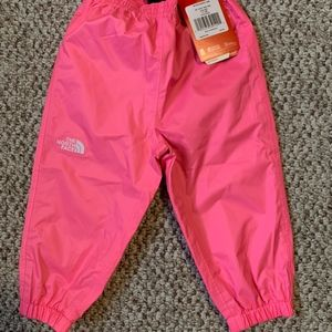 The North Face Bottoms - NWT The North Face Infant Pink Splash Pants